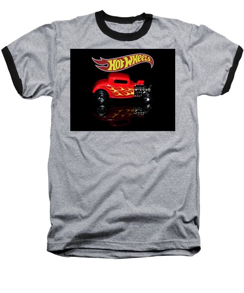 Hot Wheels '32 Ford Hot Rod Baseball T-Shirt
