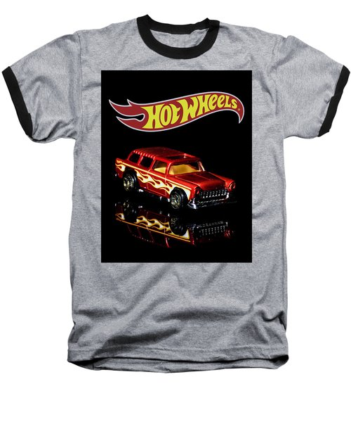 Hot Wheels '55 Chevy Nomad 2 Baseball T-Shirt