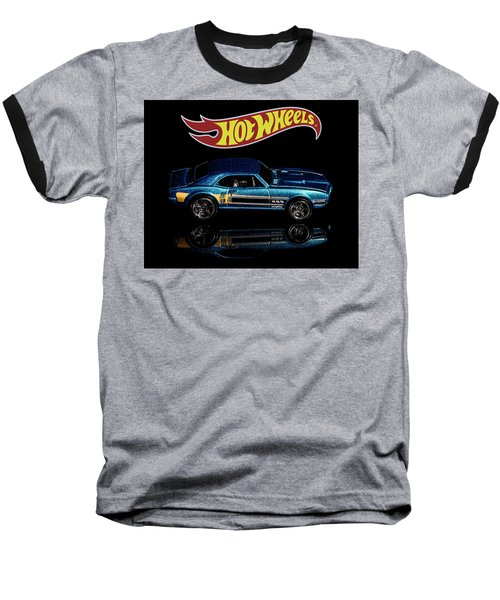 Hot Wheels '67 Pontiac Firebird 400-1 Baseball T-Shirt