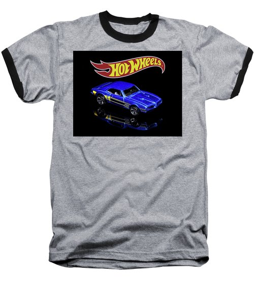 Hot Wheels '67 Pontiac Firebird 400-2 Baseball T-Shirt