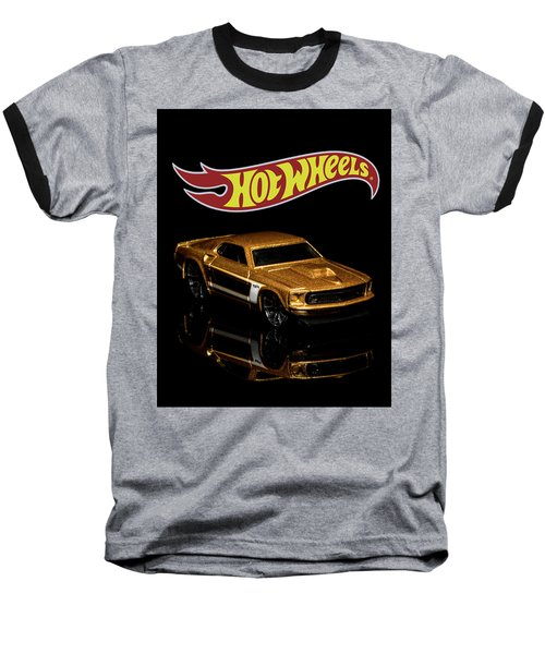 Hot Wheels '69 Ford Mustang 2 Baseball T-Shirt