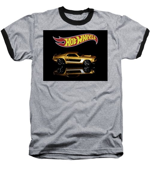 Hot Wheels '69 Ford Mustang Baseball T-Shirt