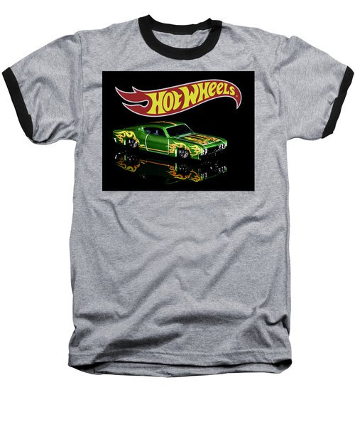 Hot Wheels '69 Ford Torino Talladega Baseball T-Shirt