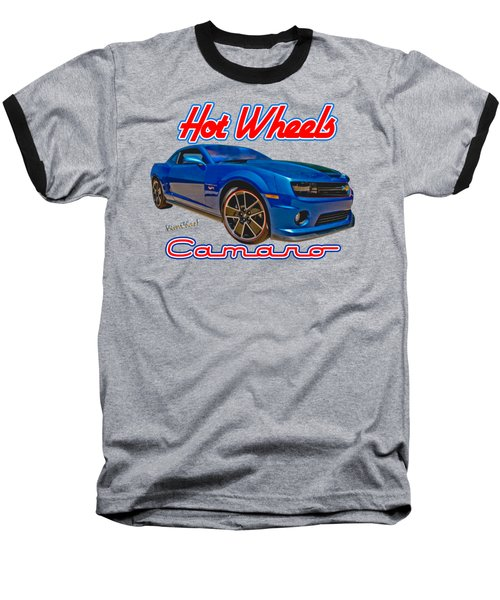 Hot Wheels Camaro Baseball T-Shirt