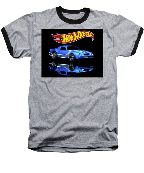 Hot Wheels Gm Camaro Z28 Baseball T-Shirt