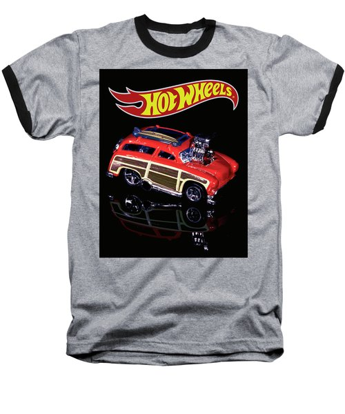 Hot Wheels Surf 'n' Turf Baseball T-Shirt
