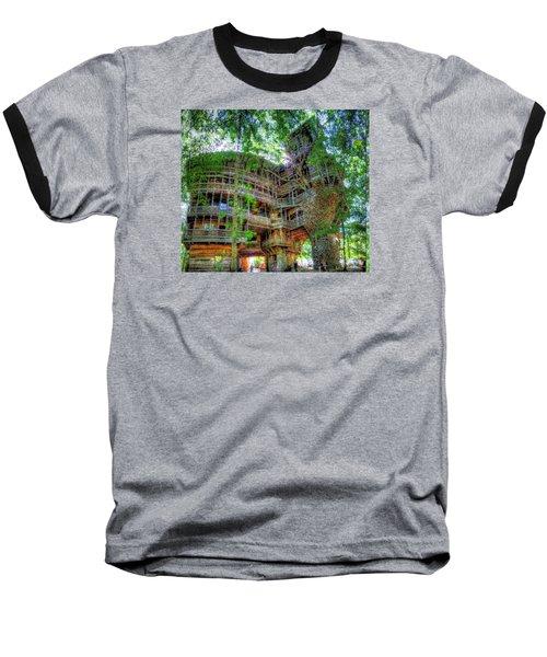 Baseball T-Shirt featuring the painting Hotel California by Mario Carini