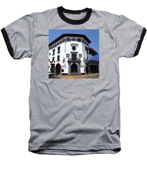 Hotel Colonial Baseball T-Shirt by Randall Weidner
