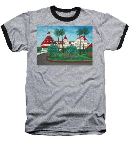 Hotel Del Coronado Baseball T-Shirt