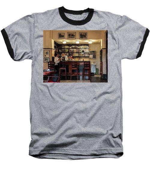 Baseball T-Shirt featuring the photograph Hotel Presidente Bar Havana Cuba by Charles Harden