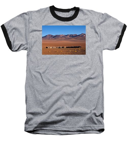 Hotel Tayka Del Desierto In Siloli Desert Baseball T-Shirt by Aivar Mikko