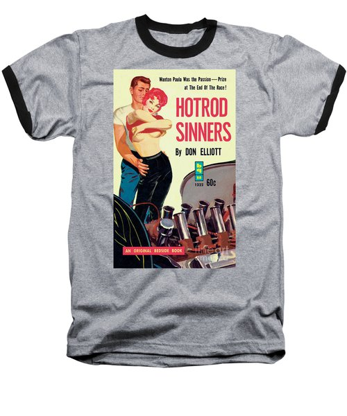 Hotrod Sinners Baseball T-Shirt