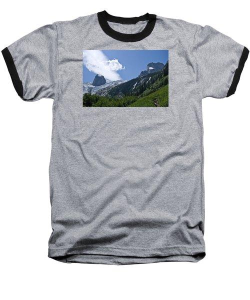 Hounds Tooth Baseball T-Shirt