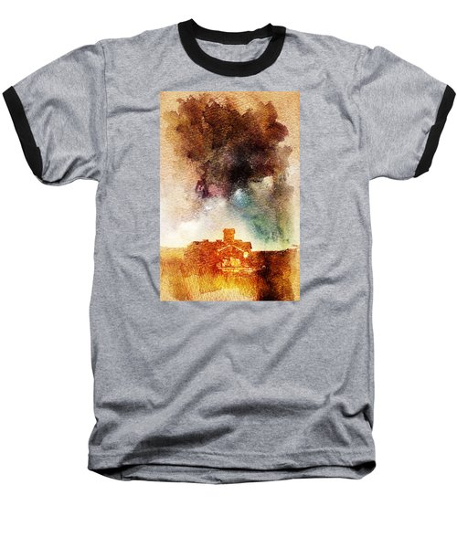 House And Night Baseball T-Shirt