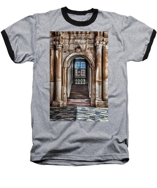 House Entrance Palermo  Baseball T-Shirt by Patrick Boening