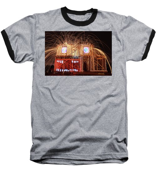 House Head 24 Baseball T-Shirt by Andrew Nourse