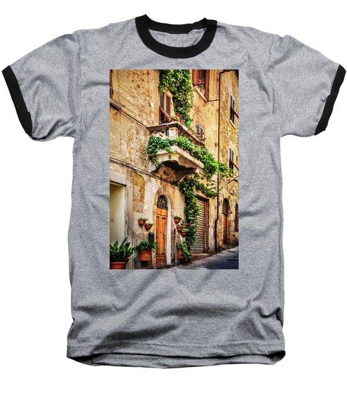 House In Arezzoo, Italy Baseball T-Shirt