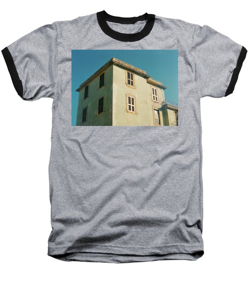 House In Ostia Beach, Rome Baseball T-Shirt