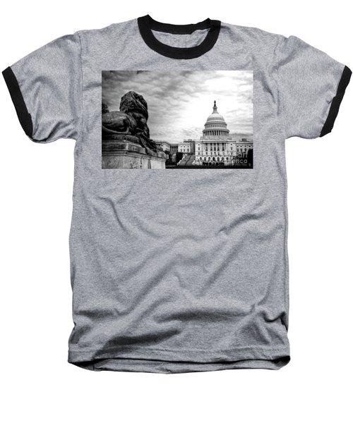 House Of Lions Baseball T-Shirt