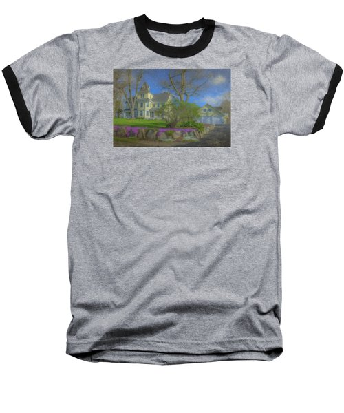 House On Elm St., Easton, Ma Baseball T-Shirt
