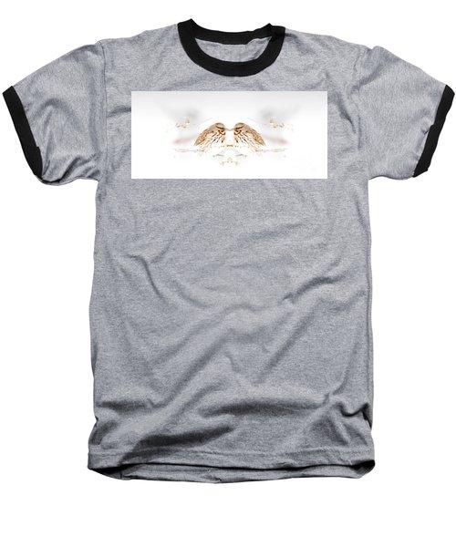 House Sparrow Baseball T-Shirt