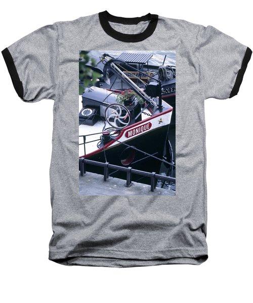 Houseboat In France Baseball T-Shirt