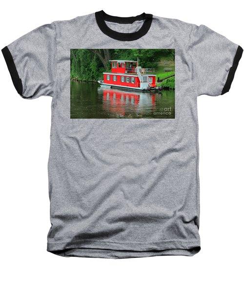 Houseboat On The Mississippi River Baseball T-Shirt