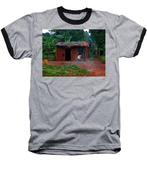 Housecleaning Africa Style Baseball T-Shirt by Exploramum Exploramum