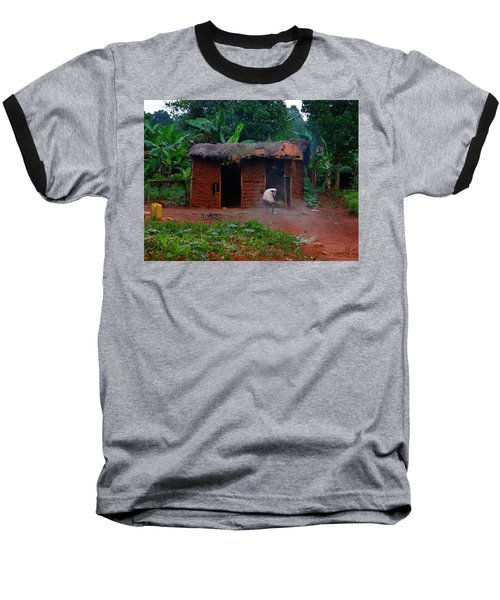 Housecleaning Africa Style Baseball T-Shirt