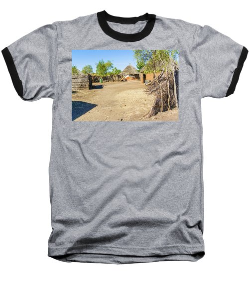 Houses In Rashid,  Sudan Baseball T-Shirt