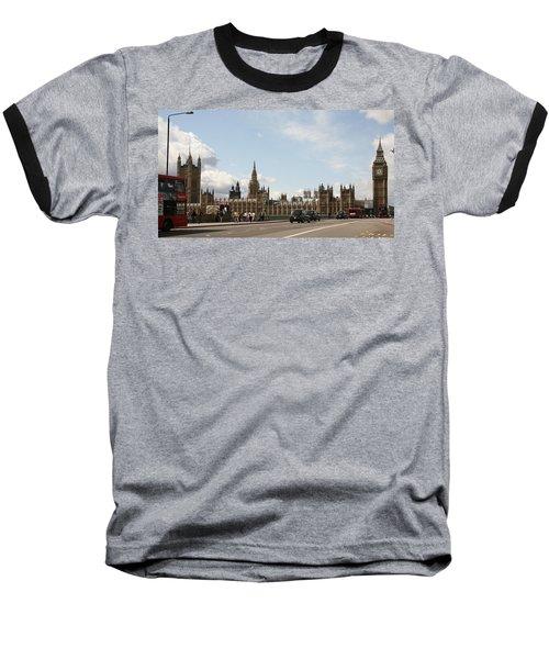 Houses Of Parliament.  Baseball T-Shirt