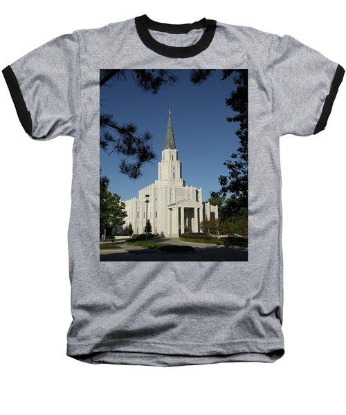 Houston Lds Temple Baseball T-Shirt