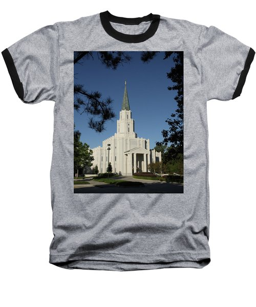 Houston Lds Temple Baseball T-Shirt