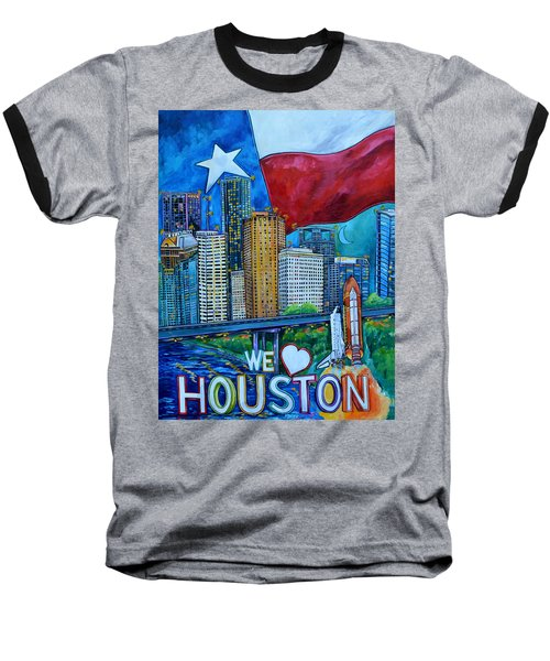 Houston Montage Baseball T-Shirt