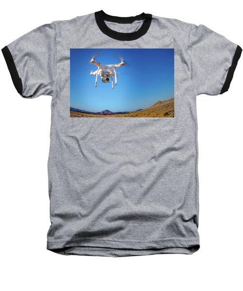 Hover Baseball T-Shirt by Mark Dunton