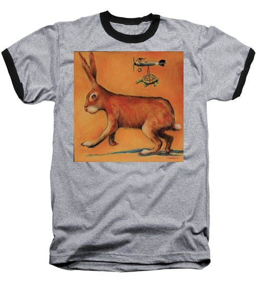 How The Tortoise Really Won Baseball T-Shirt