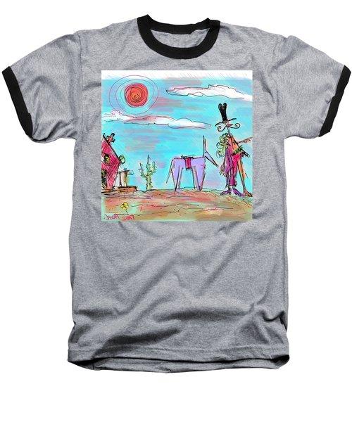 Howdy Pardner...the Frontier Awaits Baseball T-Shirt