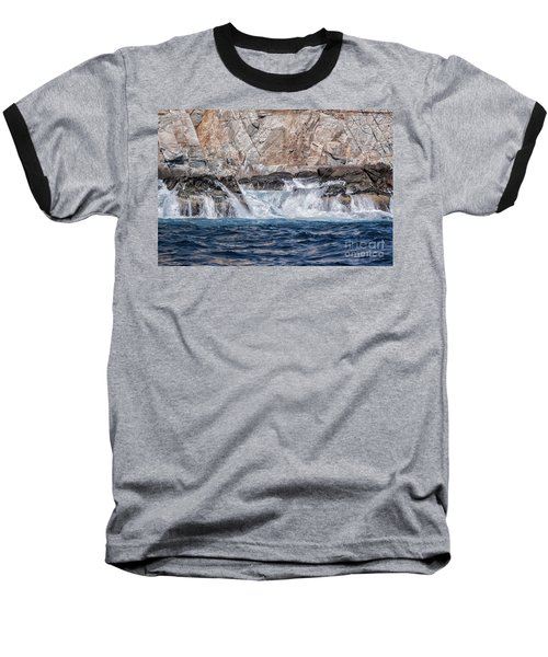 Huatulco's Texture Baseball T-Shirt