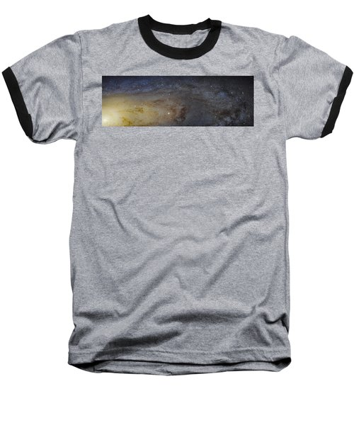 Baseball T-Shirt featuring the photograph Hubble's High-definition Panoramic View Of The Andromeda Galaxy by Adam Romanowicz