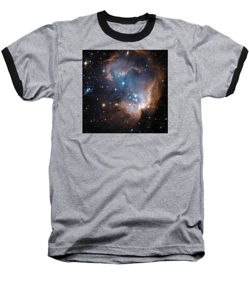 Hubble's View Of N90 Star-forming Region Baseball T-Shirt by Nasa