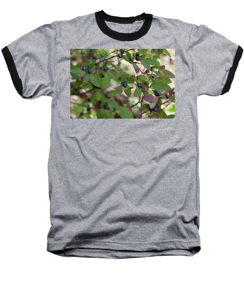 Baseball T-Shirt featuring the photograph Huckleberries by Fran Riley
