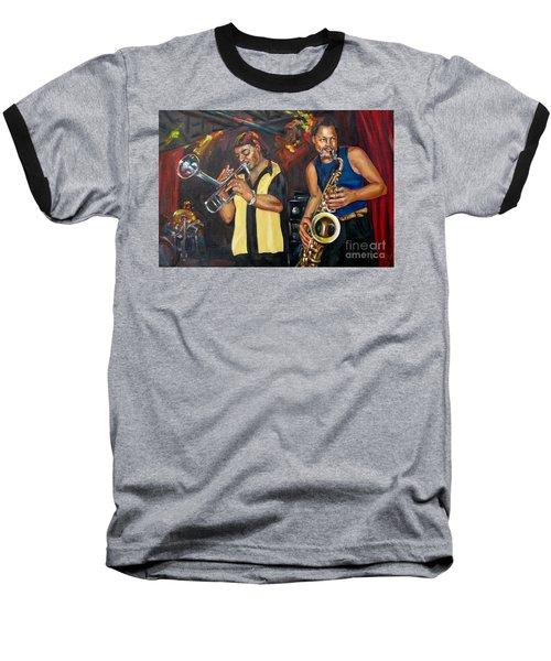 Hud N Lew/ The Daddyo Brothers Baseball T-Shirt