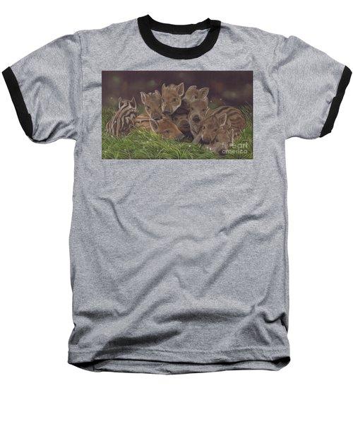 Huddle Of Humbugs Baseball T-Shirt