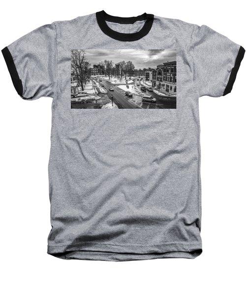 Hudson Falls Business District Baseball T-Shirt