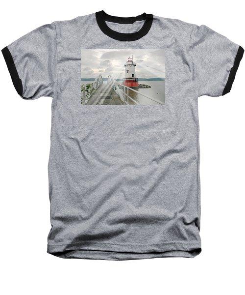 Hudson Light Baseball T-Shirt by Diana Angstadt