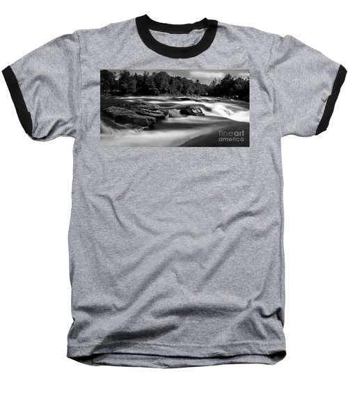 Hudson River Solice Baseball T-Shirt by Darleen Stry
