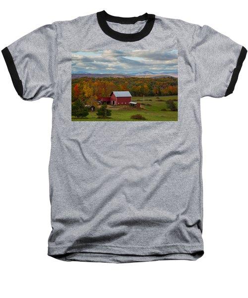 Hudson Valley Ny Fall Colors Baseball T-Shirt
