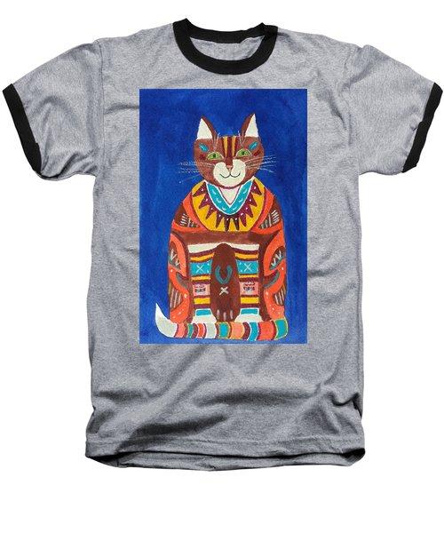 Huey Cat Baseball T-Shirt
