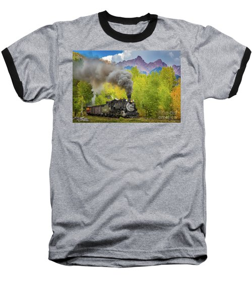 Huffing And Puffing Baseball T-Shirt