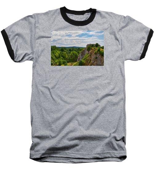 Hug A Rock Baseball T-Shirt